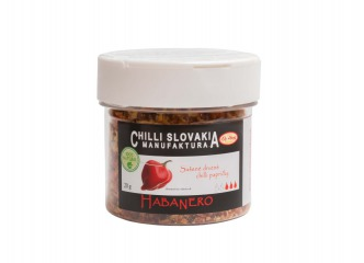 Sušené drvené chilli sypátko - Habanero 20g